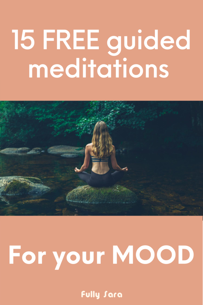 15 free guided meditations for your mood