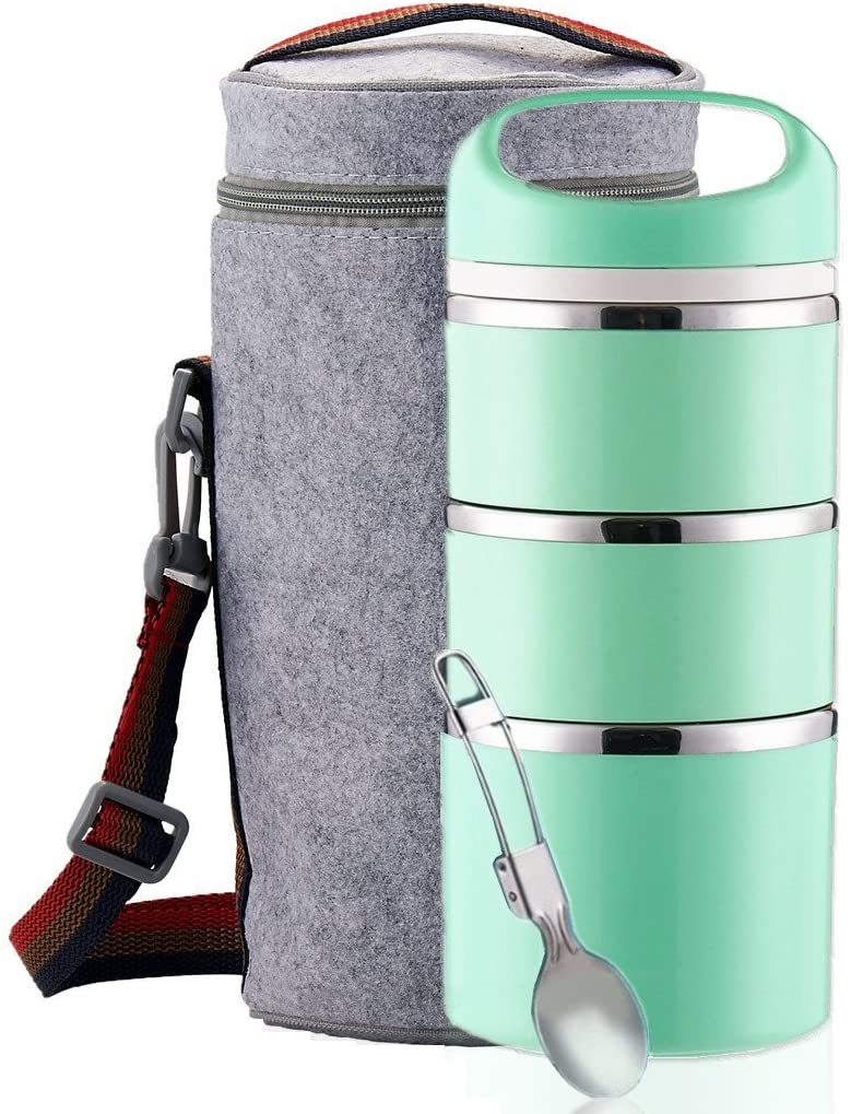 Thermal stacking lunch box